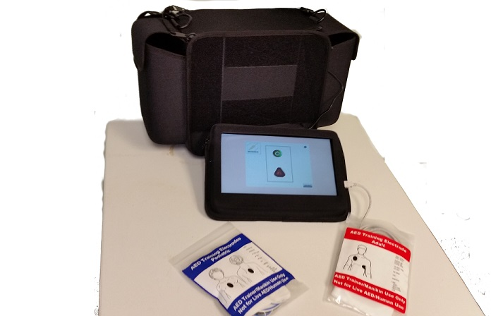 Emergency Total Training Tool (ET3) - CPR/AED Setup