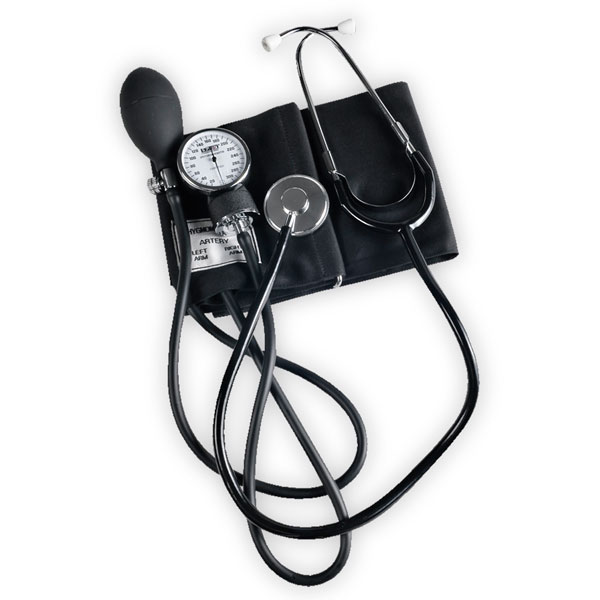 Blood Pressure Cuff & Stethoscope Package