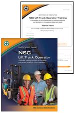 NSC Lift Truck Operator Participant  Kit 2012