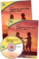 NSC Pediatric First Aid, CPR & AED Student Textbook