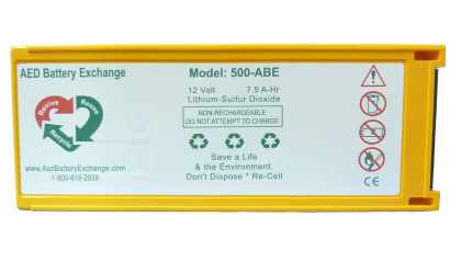 ABE-Medtronic Physio-Control LP 500 Battery