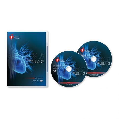 2020 BLS Course DVD Disc Set with Renewal
