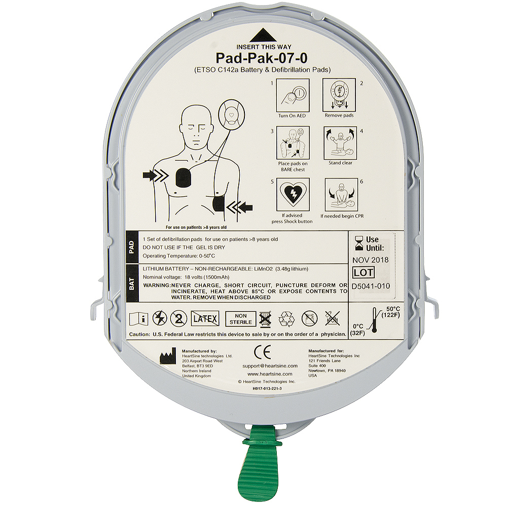 Heartsine SamPad - PAD-PAK - Adult
