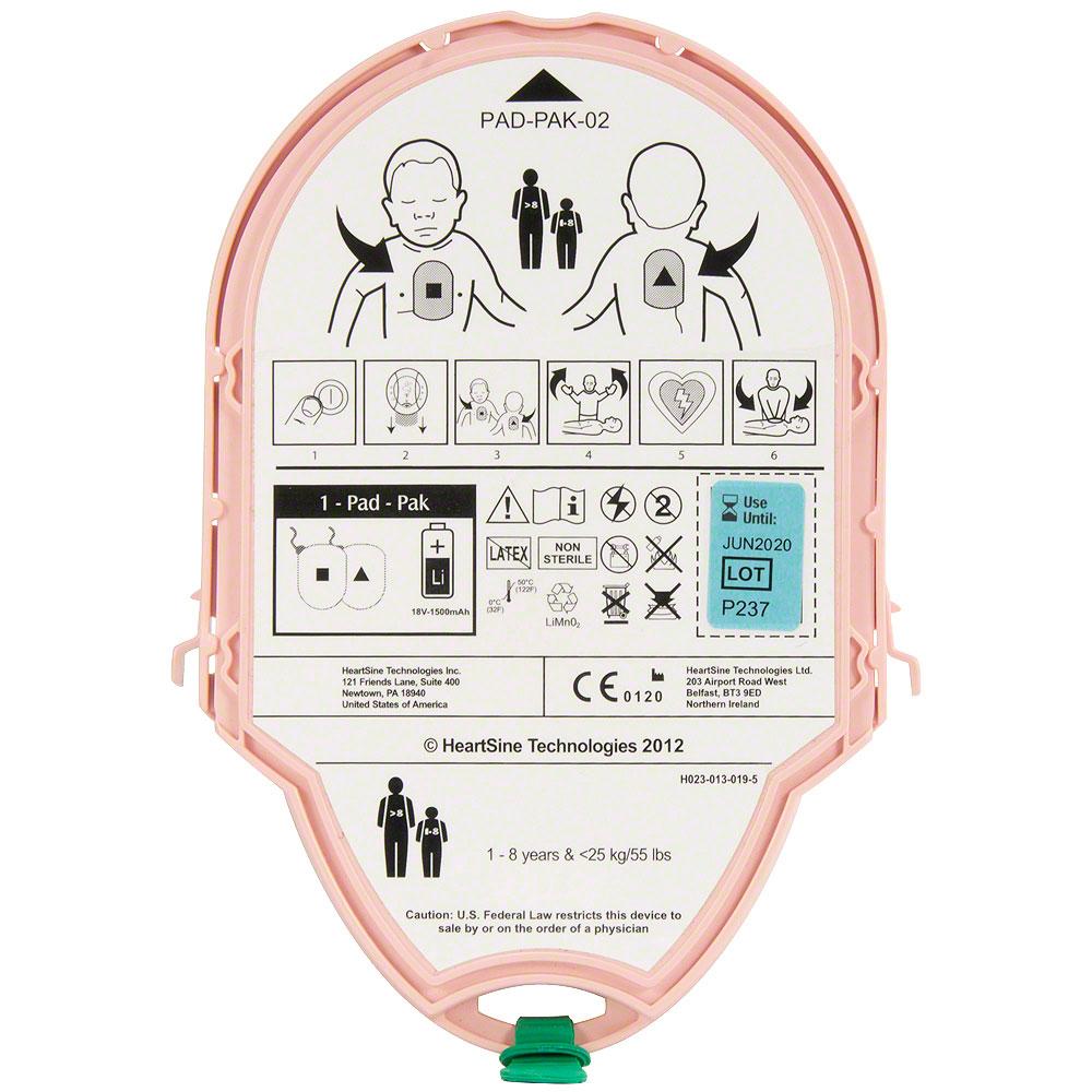Heartsine SamPad - PAD-PAK - Pediatric