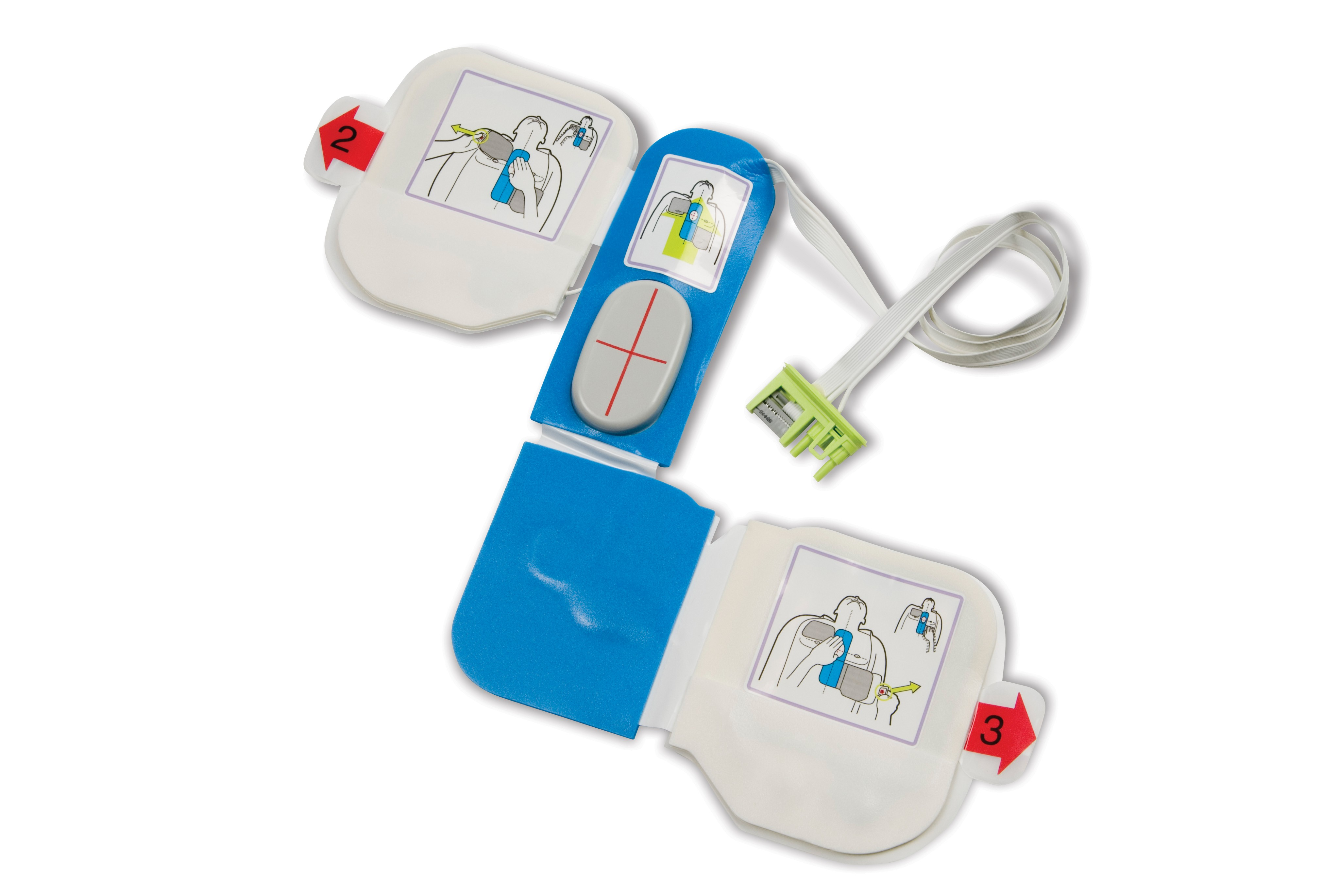 ZOLL AED Plus CPR-D Training Electrodes